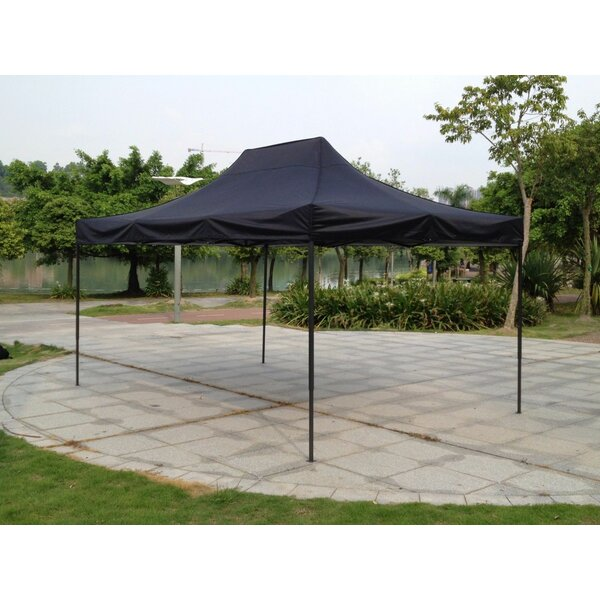 10 Ft. W x 15 Ft. D Steel Pop-Up Canopy by American Phoenix