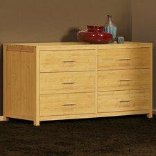 Niko 6 Drawer Double Dresser by Epoch Design