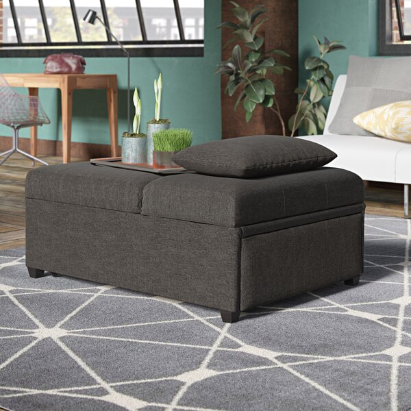 Outdoor Furniture Santa Clarita Lilian Futon Tufted Ottoman