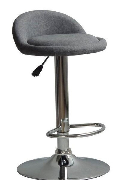 Omar Adjustable Height Swivel Bar Stool by Ebern Designs