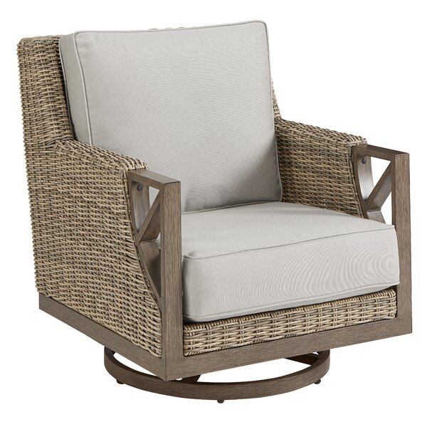Rocking Chair with Cushions by Dowton Abbey