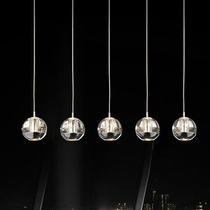 Perrier 5-Light Kitchen Island Pendant