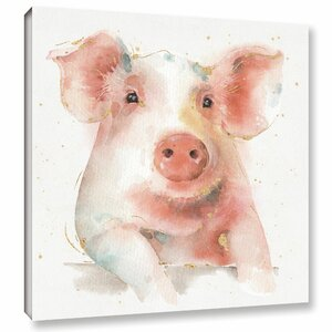 Farm Friends III Painting Print on Wrapped Canvas by Laurel Foundry Modern Farmhouse