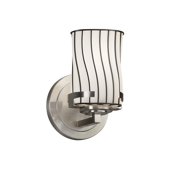Astor 1-Light Armed Sconce by 17 Stories