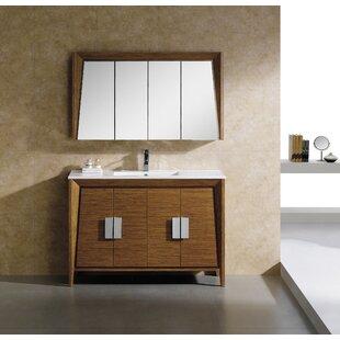 Top Reviews Emerson 47 Single Bathroom Vanity Set ByLangley Street