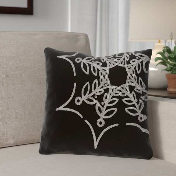 Spider Web Outdoor Throw Pillow by The Holiday Aisle