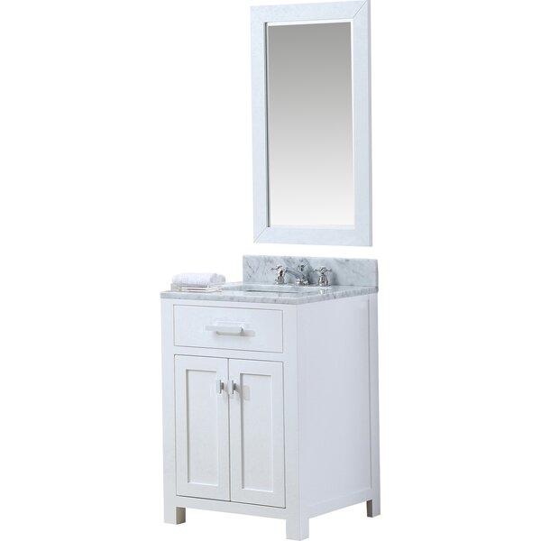 Raven 24 Single Bathroom Vanity Set by Andover Mills