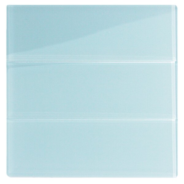 Hydrogen 4 x 12 Glass Mosaic Tile in Vapor by CNK Tile