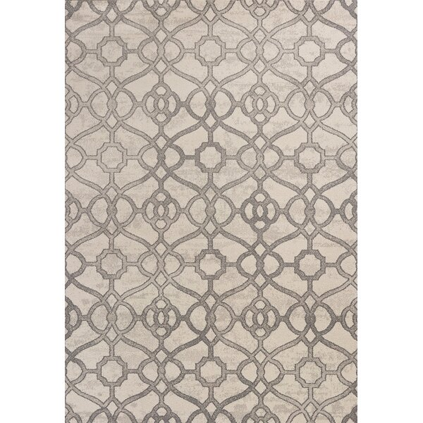 Dinh Ivory Area Rug by Charlton Home