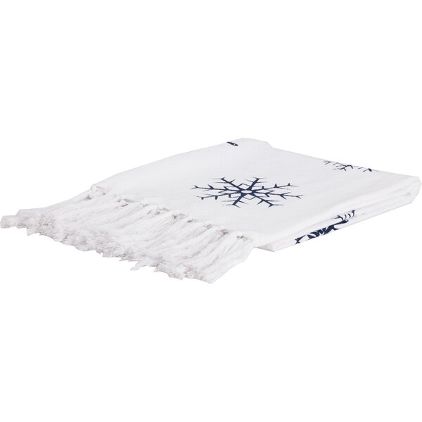 Benedick Holiday Decor Winter Morning Woven Cotton Throw by The Holiday Aisle