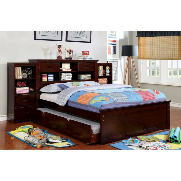 Modbury Platform Bed with Trundle by Harriet Bee