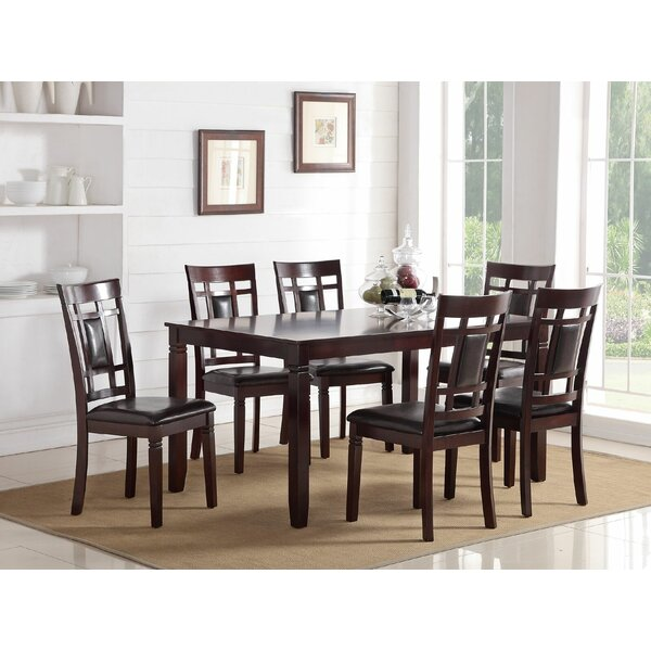 Eslick 7 Piece Dining Set by Ebern Designs