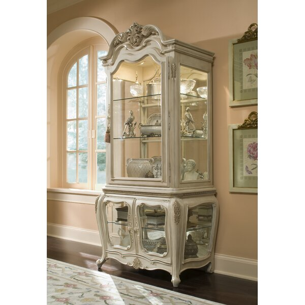 Lavelle Lighted Curio Cabinet by Michael Amini