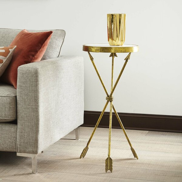 Strachan End Table by Wrought Studio