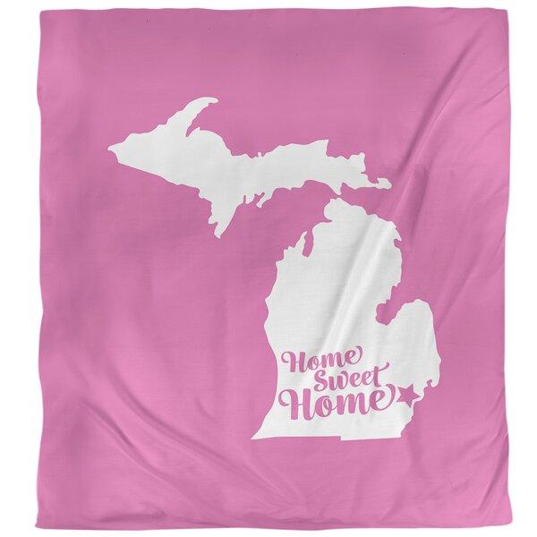 Detroit Home Sweet Single Duvet Cover