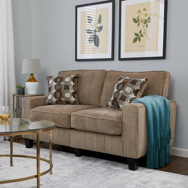 Discover Luxurious Serta RTA Palisades Loveseat Surprise! 55% Off