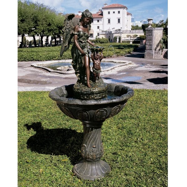 Angel Resin Heavenly Moments Sculptural Fountain by Wildon Home ®