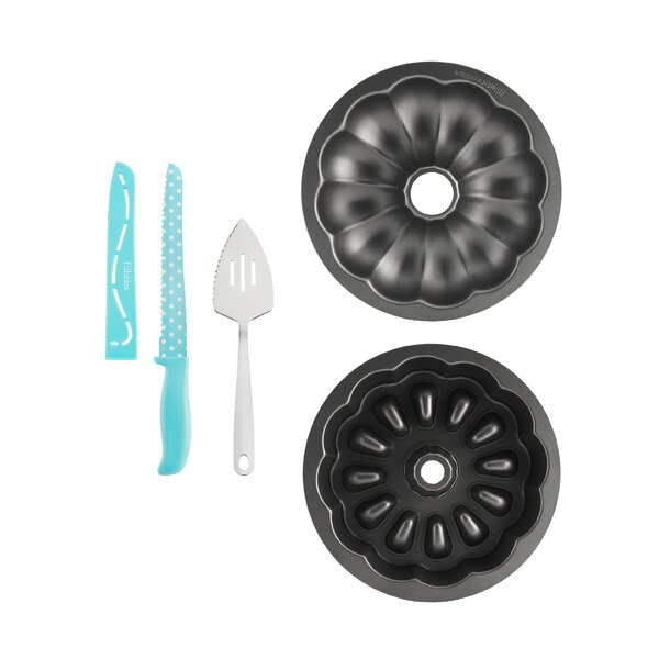 Fillables 5 Piece Round Cake Pan Set by Baker's Advantage