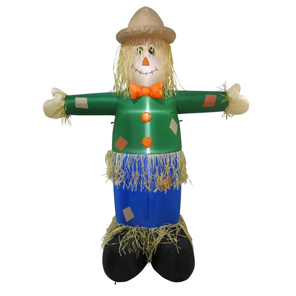 Scarecrow Inflatable by The Holiday Aisle