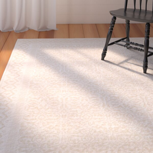 Somme Champagne Rug by August Grove