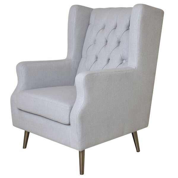 Thomas Wingback Chair by Pasargad