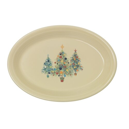 Christmas Tree Platter by Fiesta