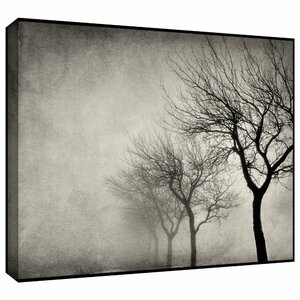 'Early Morning Sepia' Photographic Print on Wrapped Canvas by Charlton Home