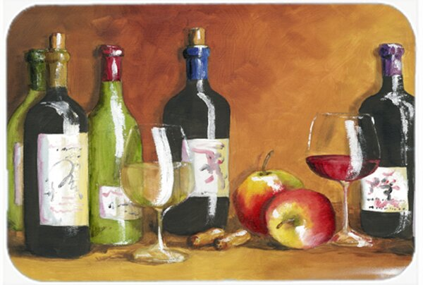 Wine Glass Cutting Board by Caroline's Treasures
