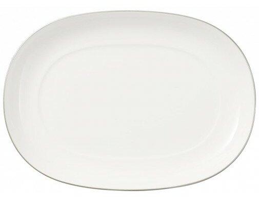 Anmut Platinum Pickle Dish / Gravy Boat by Villeroy & Boch