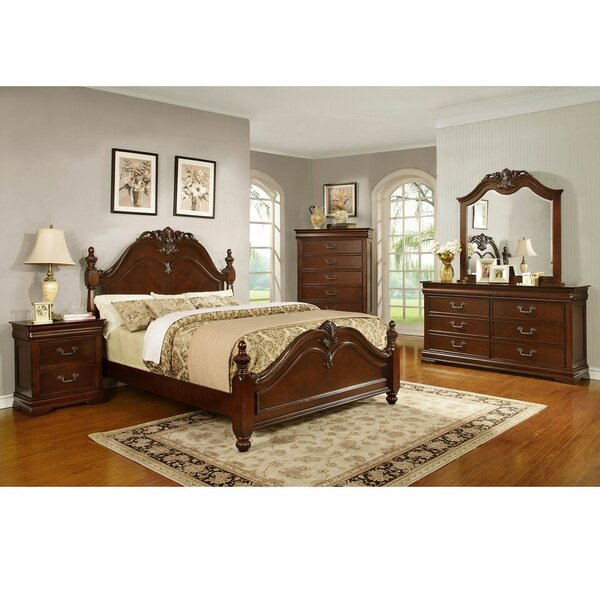 Ramey Queen Sleigh 5 Piece Bedroom Set by Astoria Grand