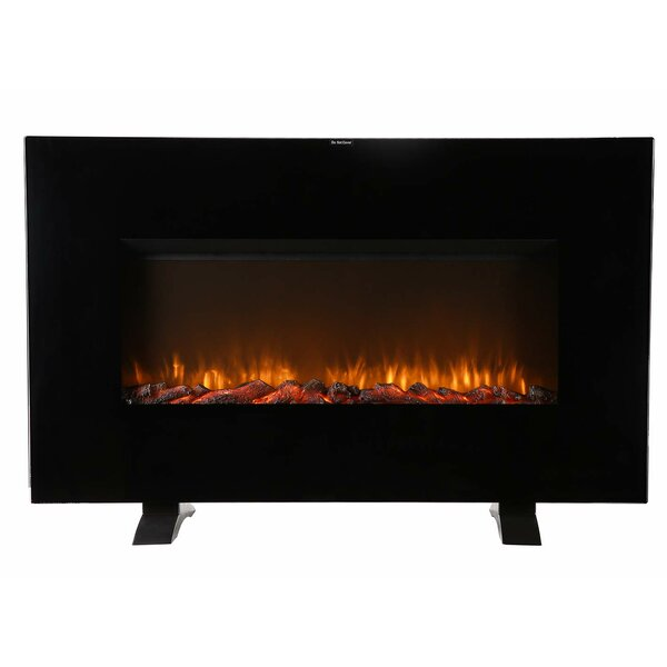 Adolar Recessed Wall Mounted Electric Fireplace By Ebern Designs