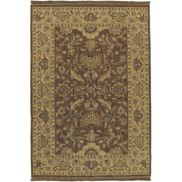 Baxter Brown Area Rug by Darby Home Co