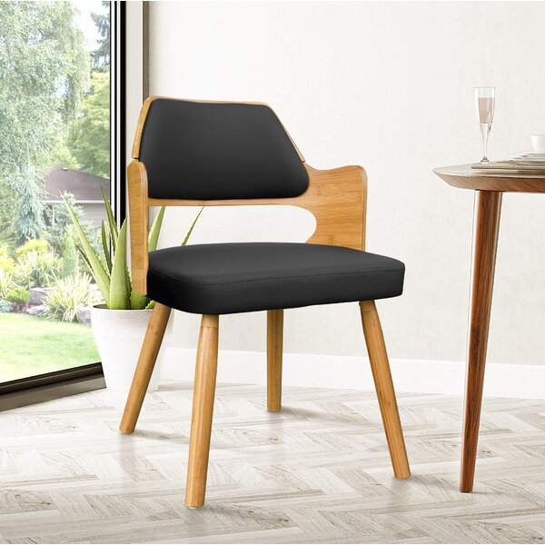 Westley Bamboo Upholstered Dining Chair by Brayden Studio