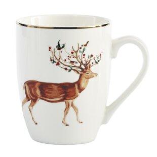 Rudolph Xmas Coffee Mug Set Of 4