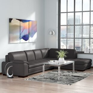 Casselman Leather Sectional