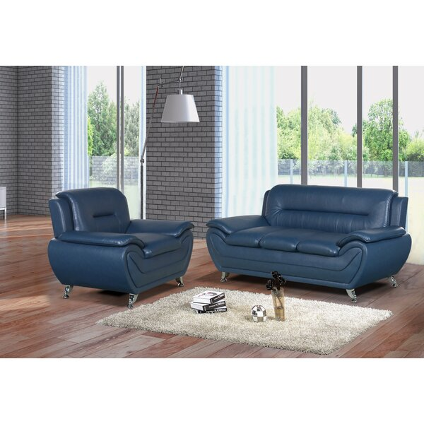 Gatto 2 Piece Living Room Set