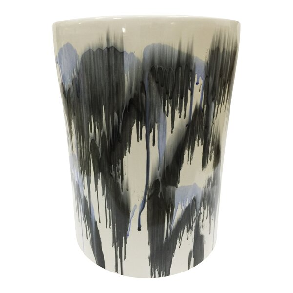 Liviana Ceramic Garden Stool by Bungalow Rose