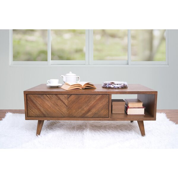 Rahul Coffee Table With Storage By Union Rustic