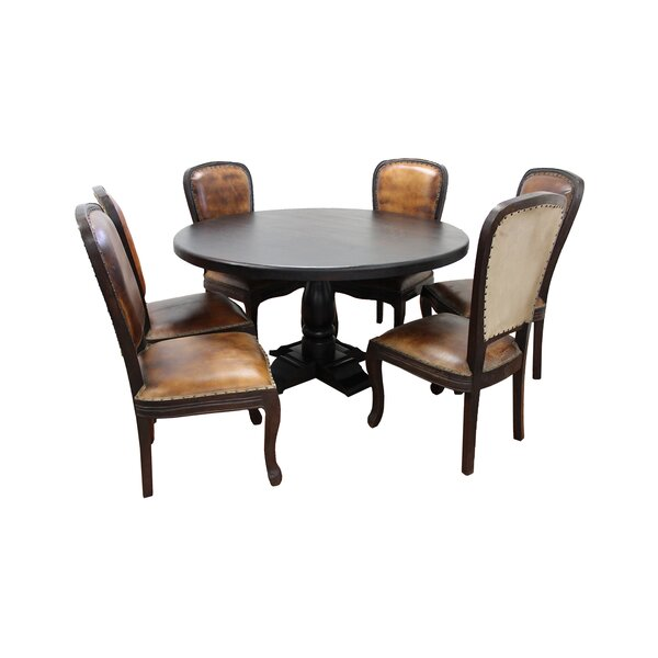 Cullens 7 Piece Dining Set By Fleur De Lis Living