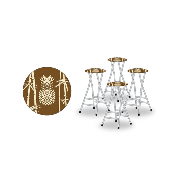 Tiki 30 Patio Bar Stool (Set of 4) by Best of Times
