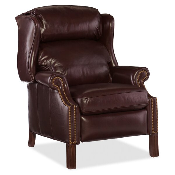 Trudy Leather Manual Recliner By Red Barrel Studio