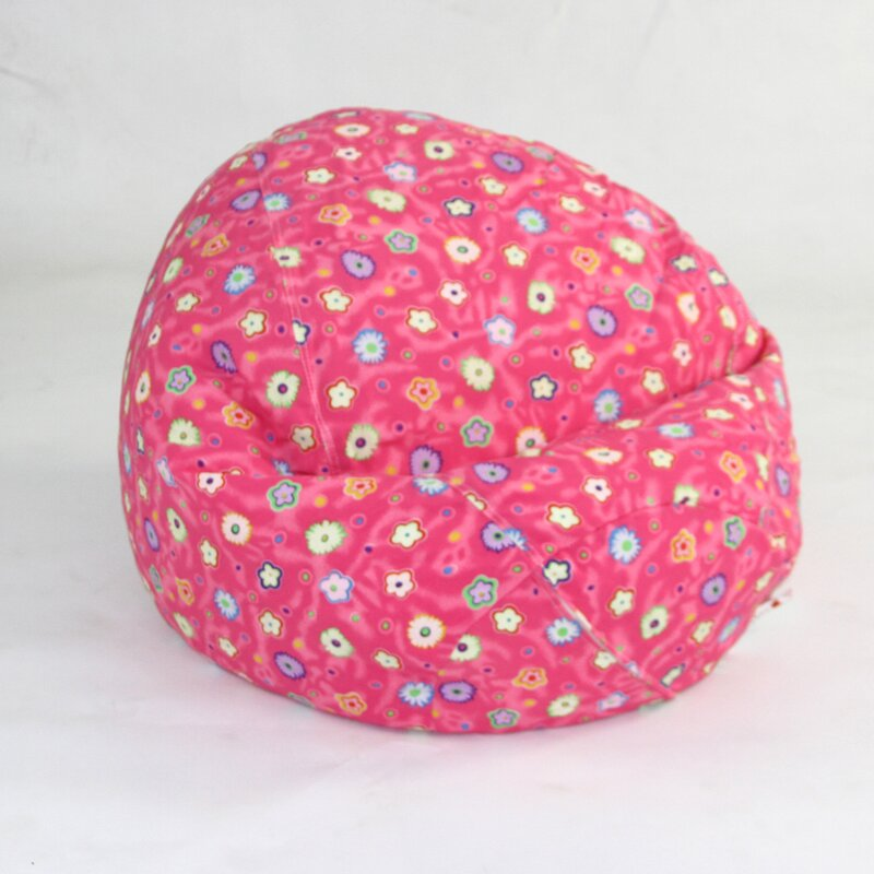 Zoomie Kids Floral Bean Bag Chair Amp Reviews Wayfair Ca