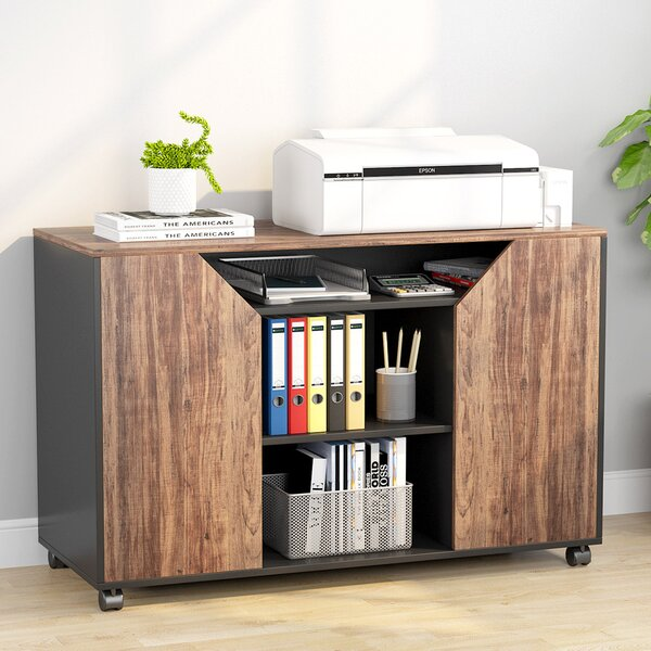 Colwell Mobile Vertical Filing Cabinet