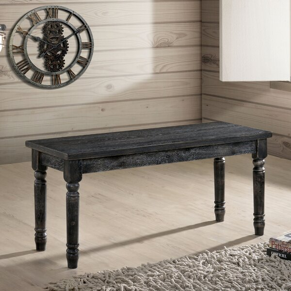 Rayfield Wood Bench by Gracie Oaks