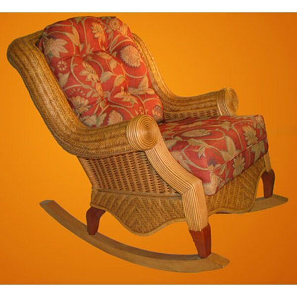 Palm Beach Rocking Chair By Spice Islands Wicker