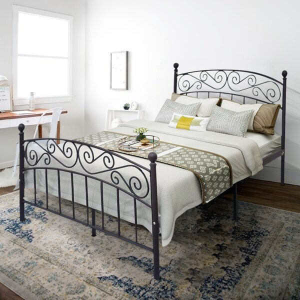 Barfield Metal Platform Bed by Fleur De Lis Living