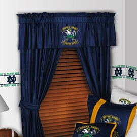 NCAA 88 Notre Dame Fighting Irish Curtain Valance by Sports Coverage Inc.