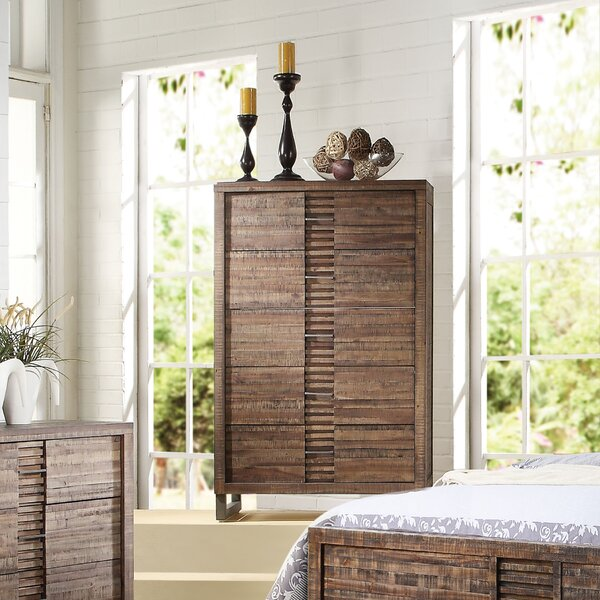 Womac 5 Drawer Chest By Union Rustic