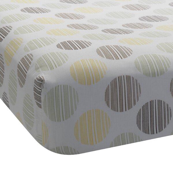 Giraffe Dot Fitted Crib Sheet by Lambs & Ivy