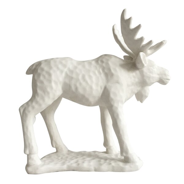 Shoalhaven Woodland Moose Figurine by Millwood Pines